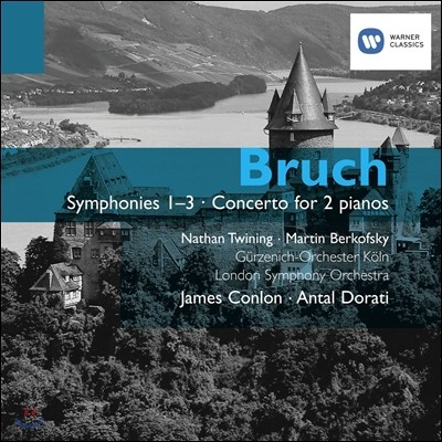 브루흐 : 교향곡 및 2대의 피아노를 위한 협주곡 - 제임스 콘론, 안탈 도라티