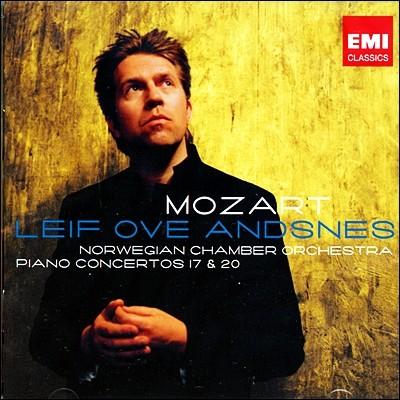 모차르트 : 피아노 협주곡 17, 20번 - 안스네스