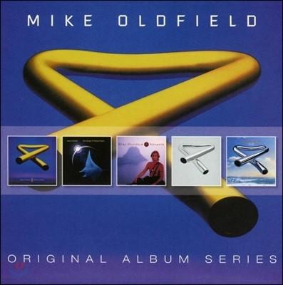 Mike Oldfield - Original Album Series 마이크 올드필드 오리지널 앨범 5CD 박스 세트