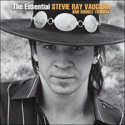 Stevie Ray Vaughan and Double Trouble - The Essential 스티비 레이 본 앤 더블 트러블 베스트 앨범 [2LP]