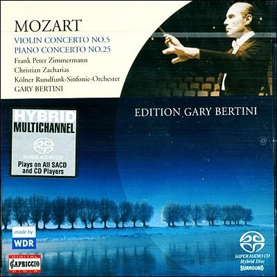 Mozart Violin Cincerto No.5 Piano Concerto No.25