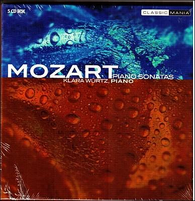 Klara Wurtz 모차르트: 피아노 소나타 전곡집 (Mozart: Complete Piano Sonatas)