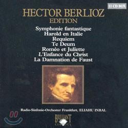 베를리오즈 에디션 - 환상 교향곡, 레퀴엠, 테 데움 외 (Berlioz Edition) 엘리야후 인발