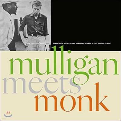 Thelonius Monk & Gerry Mulligan (델로니어스 몽크, 게리 멀리건) - Mulligan Meets Monk [LP]