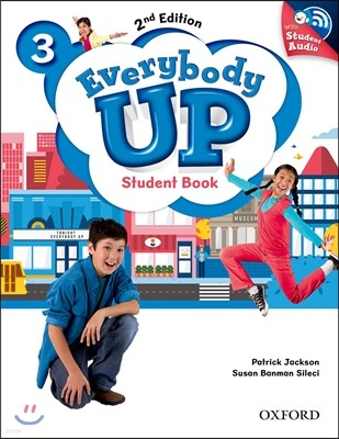 Everybody Up 3 : Student Book with CD, 2/E