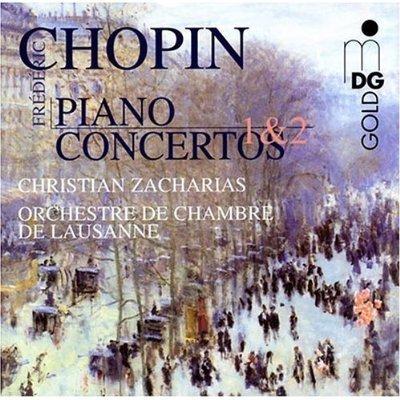 Christian Zacharias 쇼팽 : 피아노 협주곡 1,2번 (Chopin: Piano Concertos) 크리스티앙 자하리스