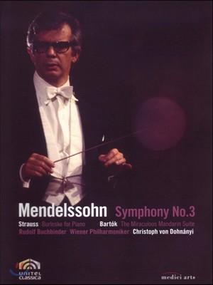 Christoph von Dohnanyi 멘델스존: 교향곡 3번 '스코틀랜드' / 바르톡: 중국의 이상한 관리 모음곡 (Mendelssohn: Scottish Symphony / Strauss: Burleske / Bartok: Miraculous Mandarin) 크리스토프 폰 도흐나니