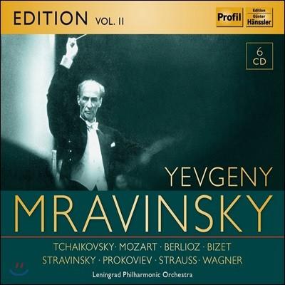 예브게니 므라빈스키 에디션 2집 (Evgeni Mravinsky Edition Vol. 2 - Tchaikovsky / Mozart / Berlioz / Stravinsky / Wagner)