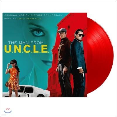 맨 프롬 엉클 영화음악 (Man From UNCLE OST by Daniel Pemberton 다니엘 펨버튼) [솔리드 레드 컬러 2LP]