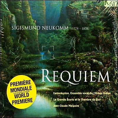 Jean-Claude Malgoire 지기스문트 노이콤: 레퀴엠, 장송 행진곡 (Sigismund Neukomm: Requiem, Marche Funebre & Miserere)