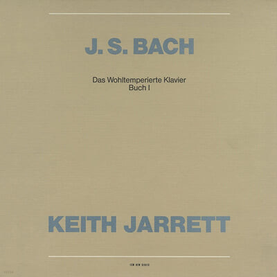 Keith Jarrett 바흐: 평균율 클라비어 곡집 1권 (Bach: The Well-Tempered Clavier, Book 1) 키스 자렛