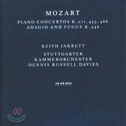 Keith Jarrett 모차르트: 피아노 협주곡 9, 17, 20번, 아다지오와 푸가 (Mozart: Piano Concertos Nos. 17 and 20) 키스 자렛