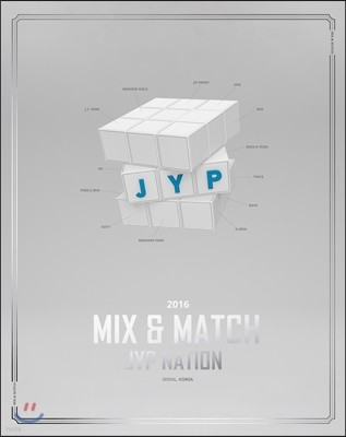 JYP Nation Korea 2016 Mix & Match