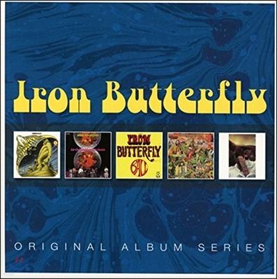 Iron Butterfly  (아이언 버터플라이) - Original Album Series (5CD 오리지널 앨범 시리즈) [Deluxe Edition]