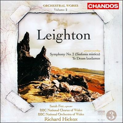 Richard Hickox 리히톤: 관현악 작품 2집 (Kenneth Leighton: Symphony No. 2, Op. 69, 'Sinfonia mistica in memoriam F.L.')