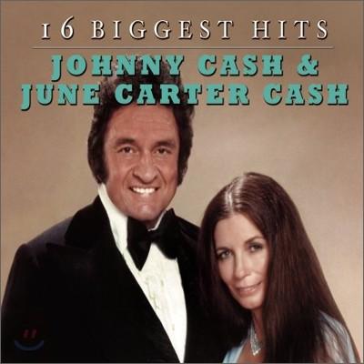 Johnny Cash & June Carter Cash - 16 Biggest Hits (Disc Box Sliders)