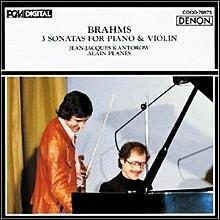 브람스 : 피아노와 바이올린을 위한 3개의 소나타 1-3 번