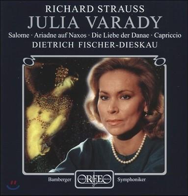 Julia Varady 율리아 바라디 - 슈트라우스: 살로메, 낙소스 섬의 아리아드네, 다나에의 사랑, 카프리치오 (Richard Strauss: Salome, Ariadne auf Naxos, Die Liebe der Danae, Capriccio)
