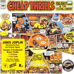 Big Brother & The Holding Company (빅 브라더 앤 더 홀딩 컴퍼니) - Cheap Thrills