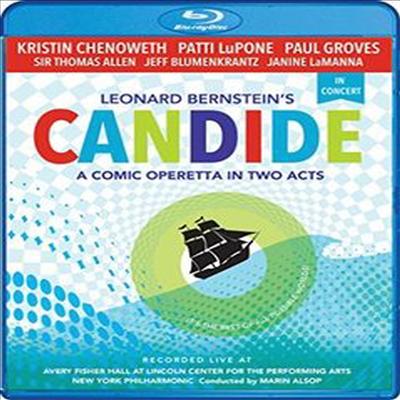 번스타인: 오페레타 '캔디드' (Leonard Bernstein's Candide In Concert) (Blu-ray)(2016) - Patti LuPone