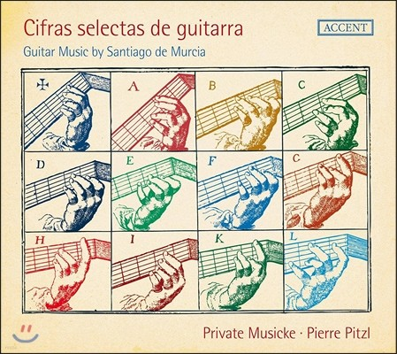 Pierre Pitzl 산티아고 데 무르시아: 기타 작품집 (Santiago de Murcia: Guitar Music - Cifras Selectas De Guitarra) 피에르 피츨, 프리바테 무지케