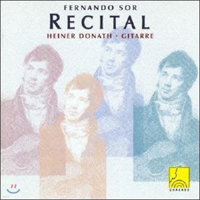 Heiner Donath 페르난도 소르: 기타 리사이틀 (Fernando Sor Recital) 하이너 도나트