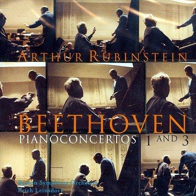 베토벤 : 피아노 협주곡 1,3번 - 아르투르 루빈스타인