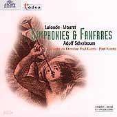 Paul kuentz / Lalande, Mouret : Symphonies & Fanfarres (수입/4531692)