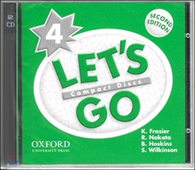 Let's Go 4 : CD (2nd Edition)