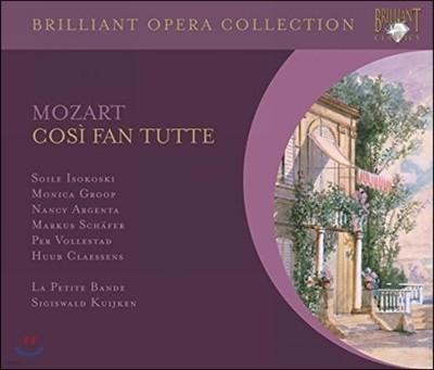 Sigiswald Kuijken 모차르트: 코지 판 투테 (Mozart: Cosi fan tutte, K588)
