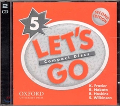 Let's Go 5 : CD (2nd Edition)