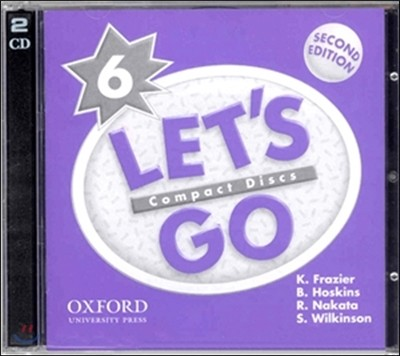Let's Go 6 : CD (2nd Edition)