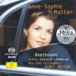 Anne-Sophie Mutter 베토벤: 바이올린 협주곡ㆍ로망스 (Beethoven: Violin ConcertoㆍRomances) 안네 소피 무터