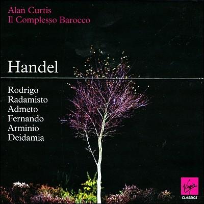 Alan Curtis 헨델 : 오페라 모음집 (Handel : 6 Operas)