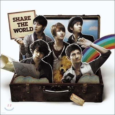 동방신기 (東方神起) - Share The World l ウィ-ア-! [CD+DVD버전/초회한정판]