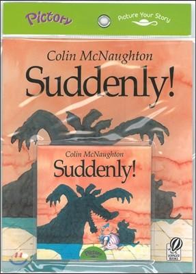 Pictory Set Step 2-01 : Suddenly! (Paperback Set)