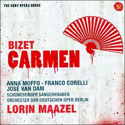 Lorin Maazel 비제: 카르멘 - 안나 모포, 호세 반 담, 로린 마젤 (Bizet : Carmen)