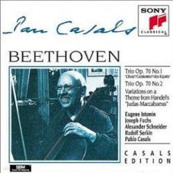 Pablo Casals / 베토벤 : 피아노 삼중주 5번 '유령', 6번, 12 변주곡 (수입/SMK58991)