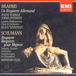 Brahms / Schumann : Requiem : TennstedtㆍKlee