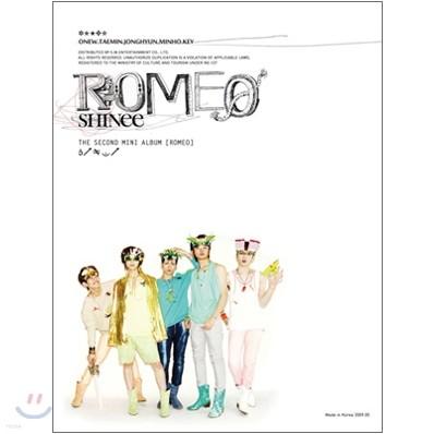 샤이니 (SHINee) - 2nd 미니앨범: Romeo