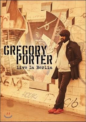 Gregory Porter (그레고리 포터) - Live in Berlin (2016년 5월 독일 베를린 라이브) [DVD]