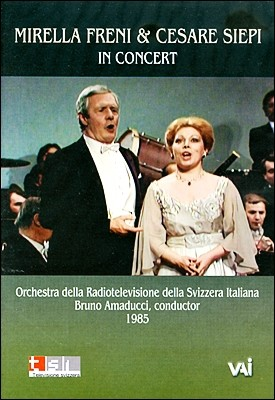 Mirella Freni & Cesare Siepi In Concert 1985 미렐라 프레니 & 체사레 시에피