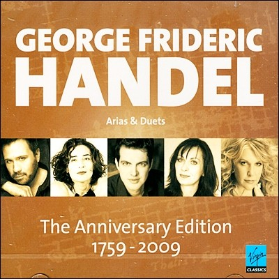 헨델: 아리아와 듀엣 (Handel: Arias & Duets / The Anniversary Edition 1759-2009))