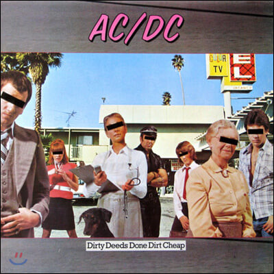 AC/DC (에이씨디씨) - Dirty Deeds Done Dirt Cheap [LP]