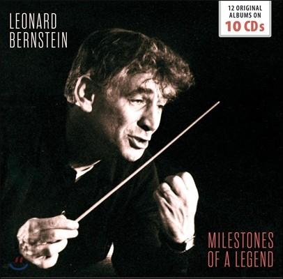 Leonard Bernstein 레너드 번스타인과 뉴욕 필하모닉 - 12장의 오리지널 앨범 컬렉션 (Milestones of a Legend: 12 Original Albums)