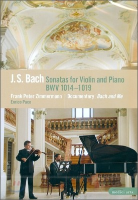 Frank Peter Zimmermann / Enrico Pace 바흐: 바이올린 소나타 (Bach: Sonatas for Violin & Harpsichord Nos. 1-6, BWV1014-1019)