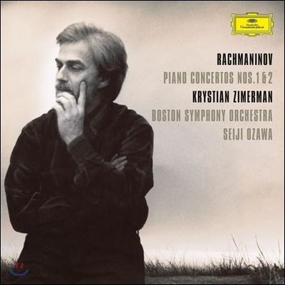 Krystian Zimerman / Seiji Ozawa 라흐마니노프: 피아노 협주곡 1, 2번 - 크리스티안 지메르만, 세이지 오자와 [2LP]