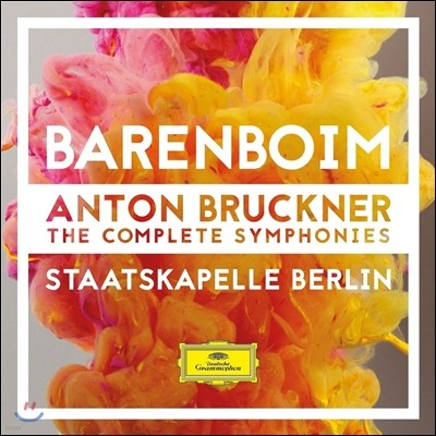 Daniel Barenboim 브루크너: 교향곡 전집 (Anton Bruckner: The Complete Symphonies) 다니엘 바렌보임, 슈타츠카펠레 베를린