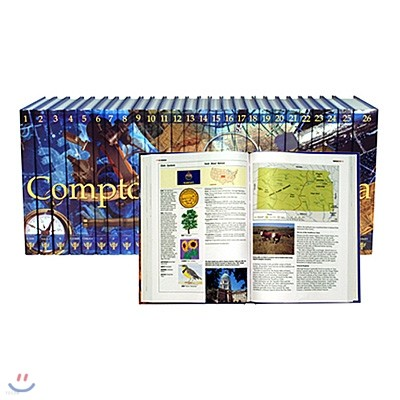 캄튼 백과사전 Compton's by Britannica 2008 (영어판)