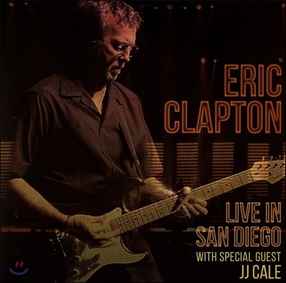 Eric Clapton & J.J Cale (에릭 클랩튼 & J.J 케일) - Live In San Diego (샌디에고 라이브 실황) [3 LP]